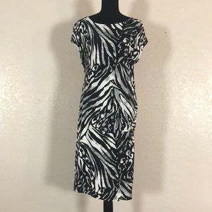 278 NWT Apt9  midi dress. SzXL